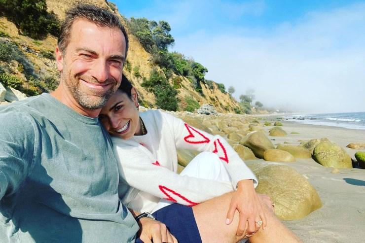 Jordana Brewster is engaged to Mason Morfit