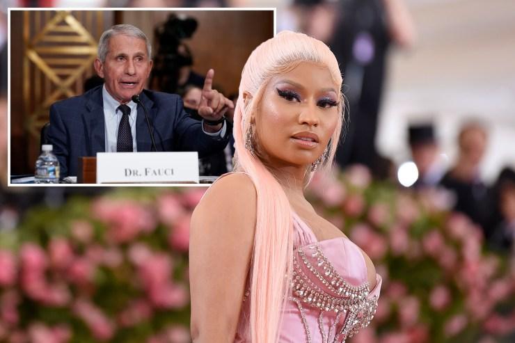 Going viral: Fauci slams Nicki Minaj for false COVID-19 vaccine Tweet