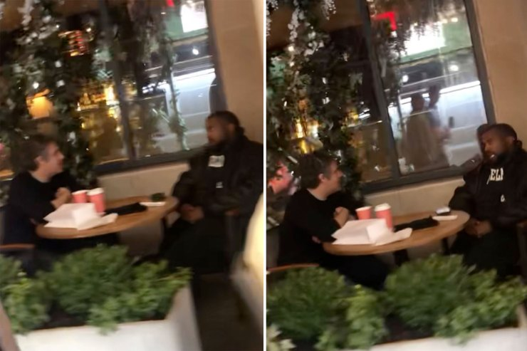 Kanye West and Michael Cohen seen getting coffee together in NYC