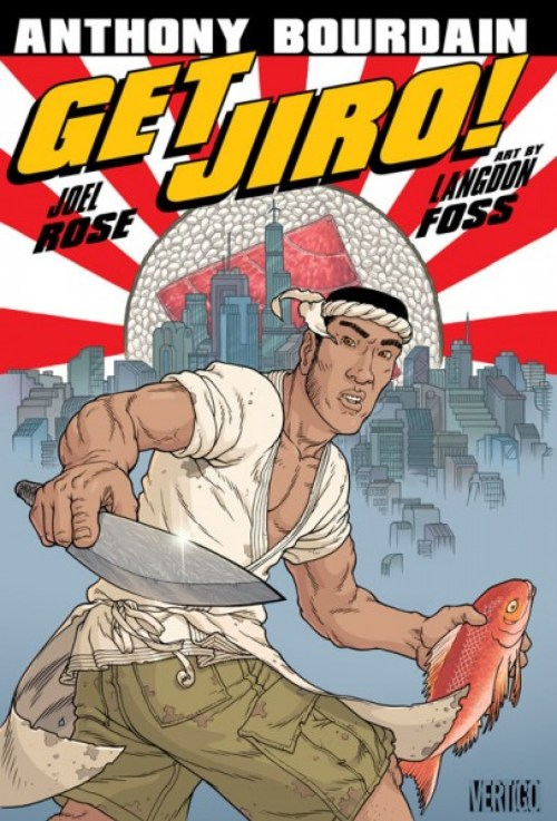 Get Jiro with art by Langdon Foss