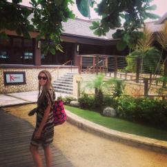 Outside of Kimonos restaurant
