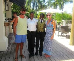 Our amazing butlers Necia and Dacia!