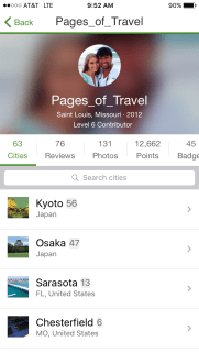 Create a profile and plan your trip with Trip Advisor