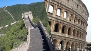 Italy vs Hong Kong - Architecture