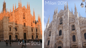 Milan 2012 and 2016 - Italy 2016
