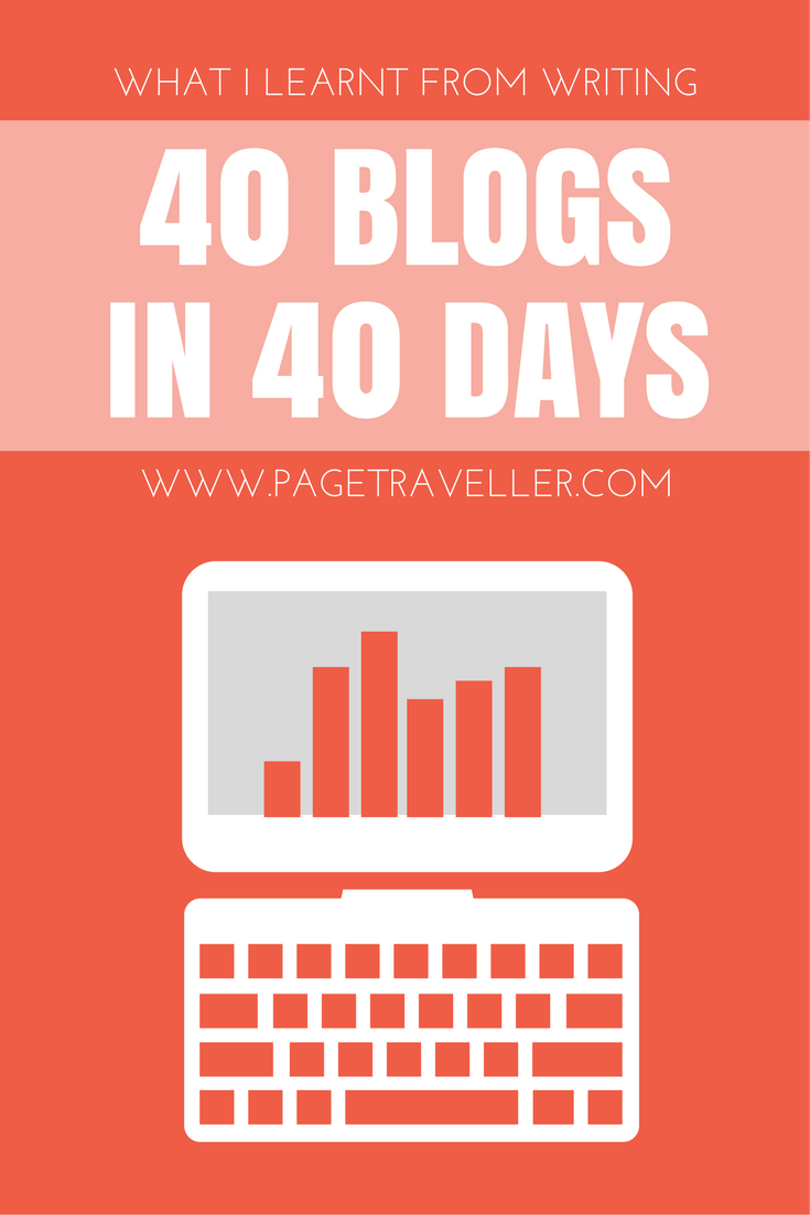 40 blogs in 40 days pin