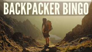 40 blogs in 40 days - Backpacker Bingo