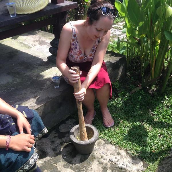 Cooking class, Ubud, Bali, Indonesia