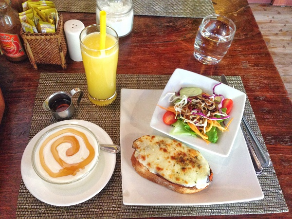 French brunch at Le Banneton in Luang Prabang, Laos