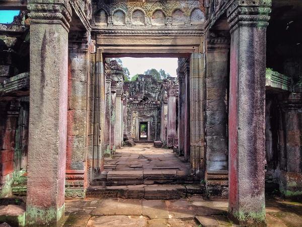 Hall of Mirrors - Preah Khan, Angkor, Cambodia