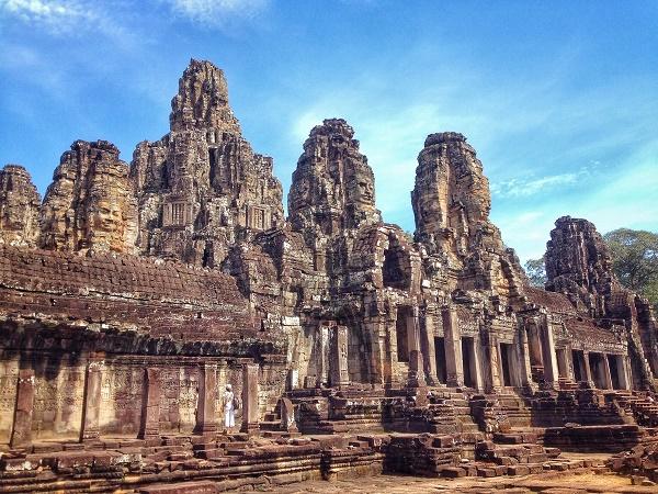 Temple of Bayon, Angkor, Cambodia