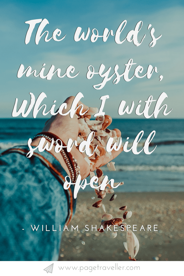 17 Best Shakespeare Quotes About Travel That Will Inspire ...