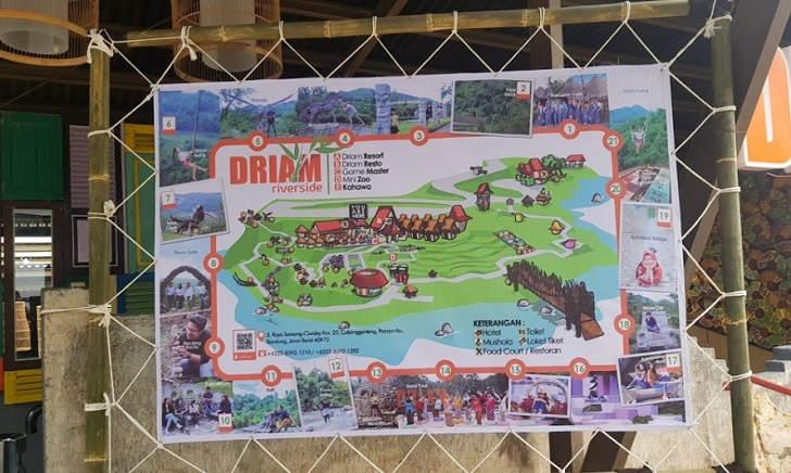 Driam Riverside Peta Lokasi