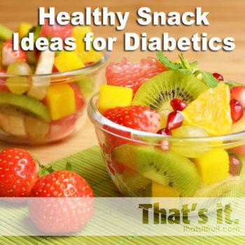 camilan untuk diabetes