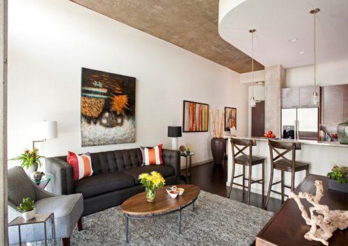 apartemen terlihat menarik