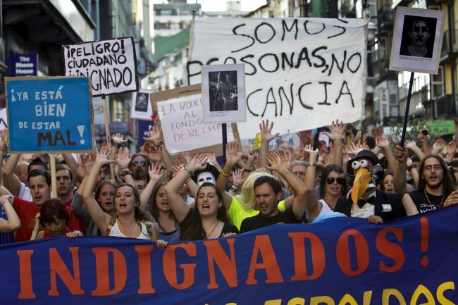 Pablo Iglesias, lo mejor que ha sucedido en esta década Los-indignados1