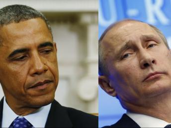 Un frío encuentro entre el presidente de Estados Unidos, Barack Obama y su par ruso, Vladimir Putin, fue captado por las cámaras