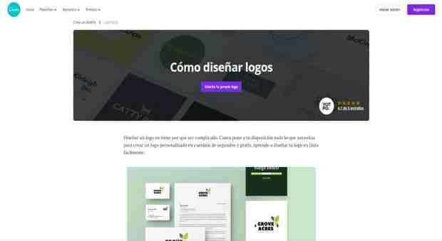 paginas para construir logos gratis