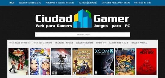 CiudadGamer juegos torrents