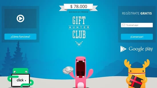 Gift Hunter Club pag para ganar dinero