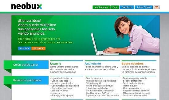 Neobux ganar dinero para neteller rápido