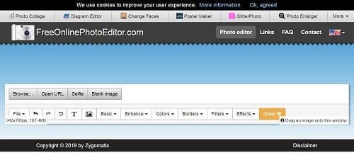 freeonlinephotoeditor paginas para hacer photoshop
