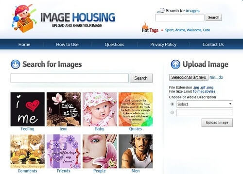 imagehousing imagenes de paginas web de internet