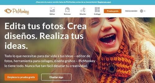 picmonkey paginas para editar fotos