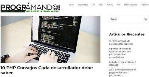 programando blog para aprender a programar