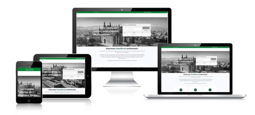 pagina web para inmobiliarias