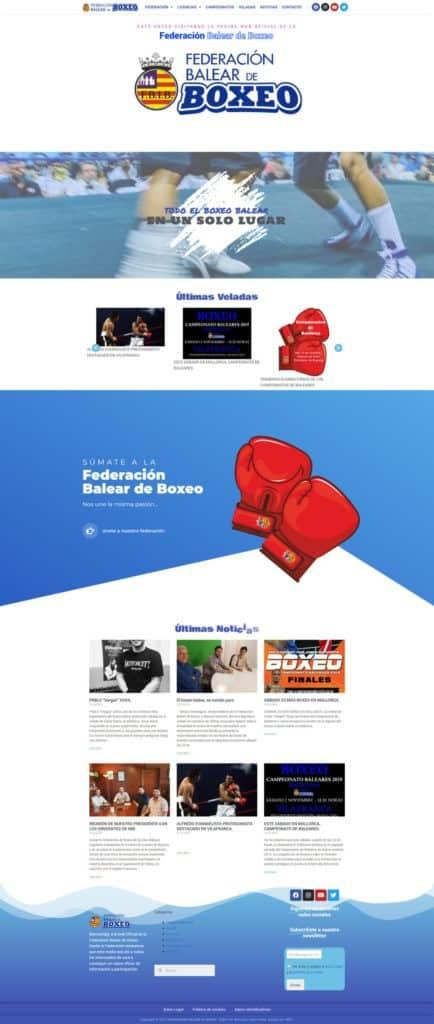 pagina web corporativa