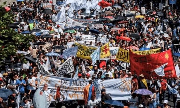 COLOMBIA. Una mobilitazione popolare di giovani e di donne