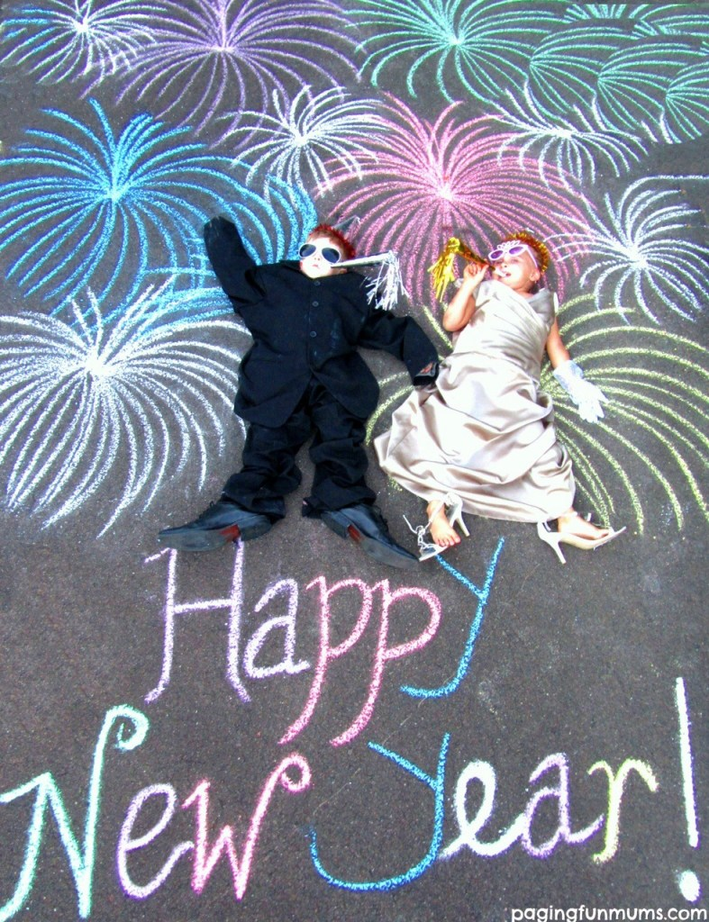 Chalk it up - Happy New Year
