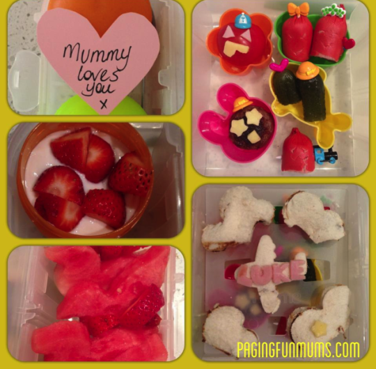 Valentine's Day Lunch Box Ideas!