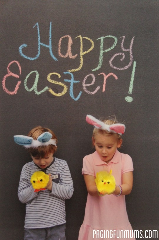 Adorable Easter Card with a twist!
