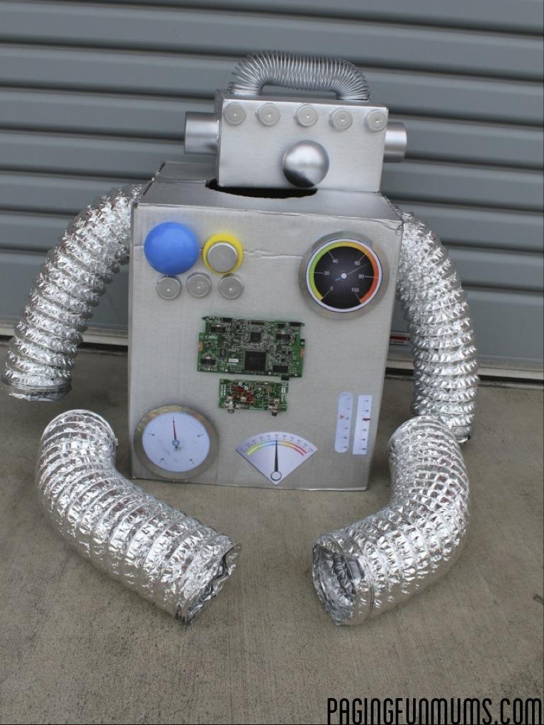 Printable Robot Parts Costume