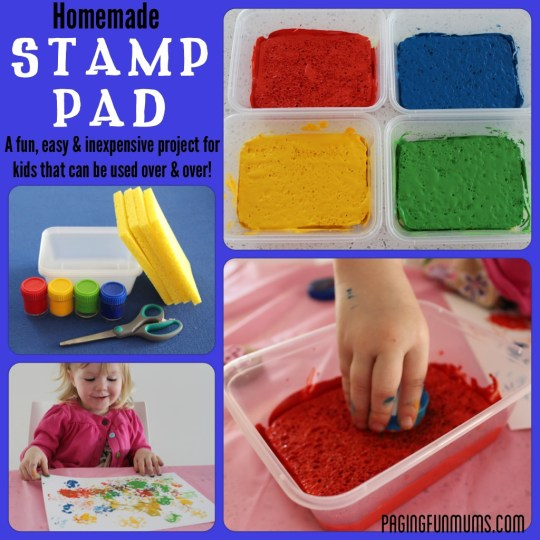 Homemade Stamp Pads