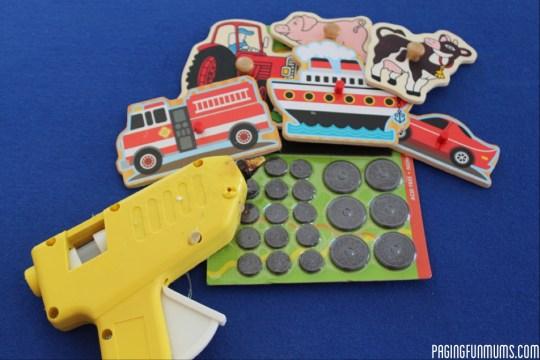 Puzzle Piece Magnets