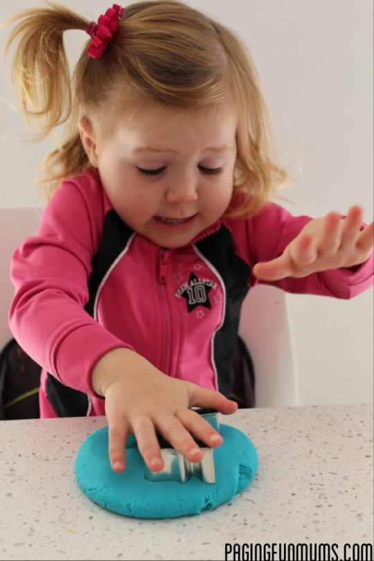 No Cook Playdough Recipe