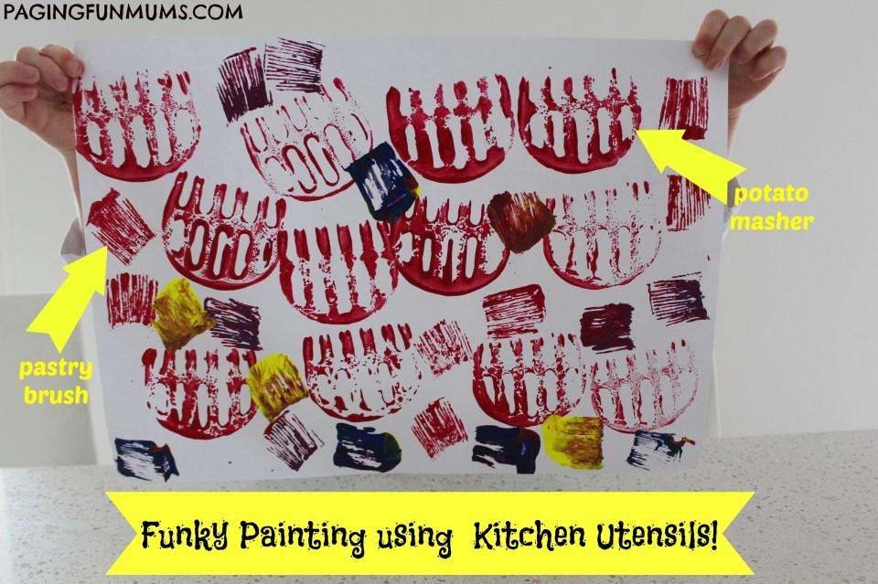 Kitchen Utensil Art