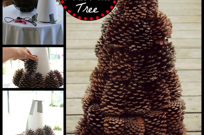 Pinecone Tree Centerpiece
