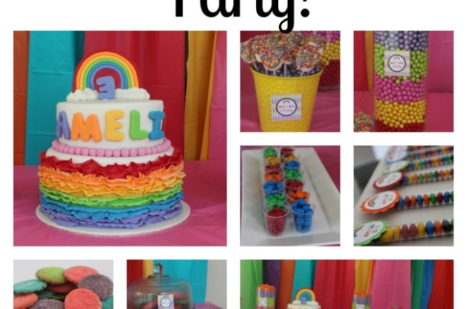 How to throw a 'Rainbow' Party!