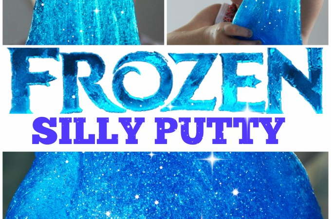 'FROZEN' Silly Putty