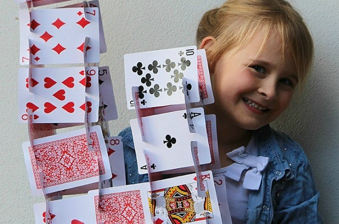 Playing Card Building Sets