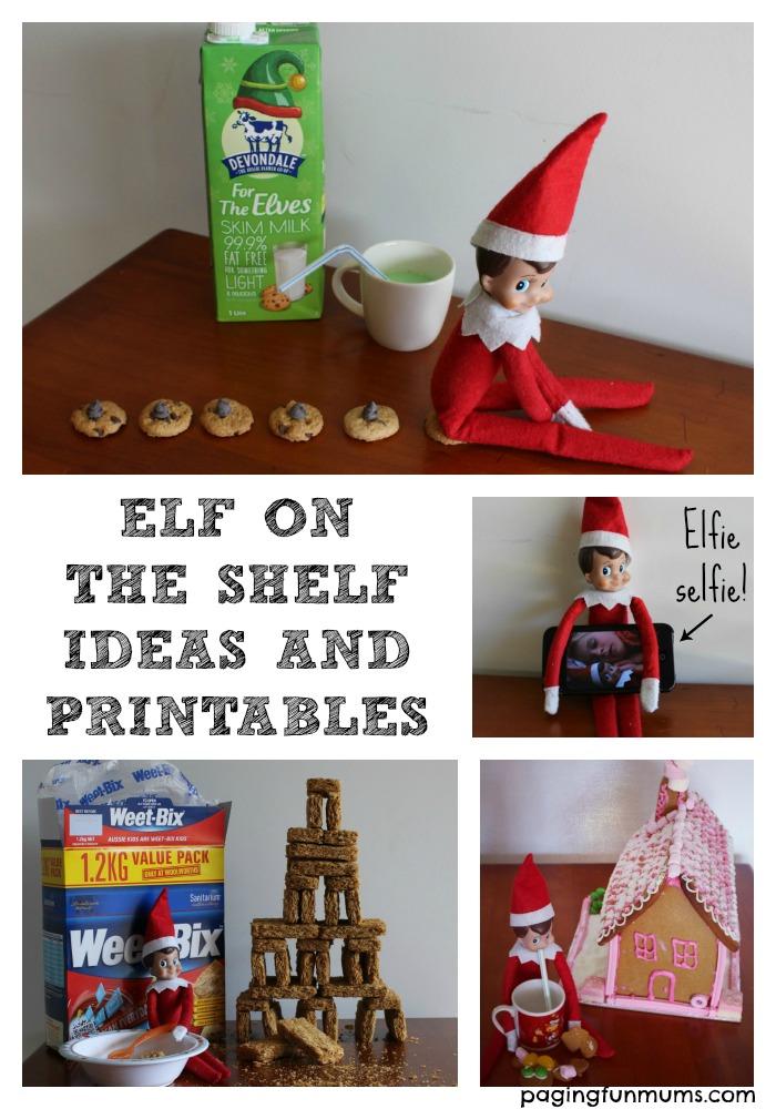 Elf On The Shelf Ideas And Printables