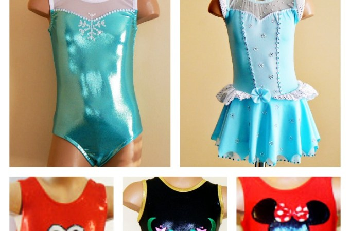 Adorable Dancewear & Gymnastics outfits – featured Etsy Store!