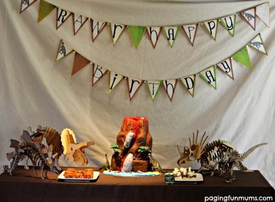 Dinosaur Party Theme!