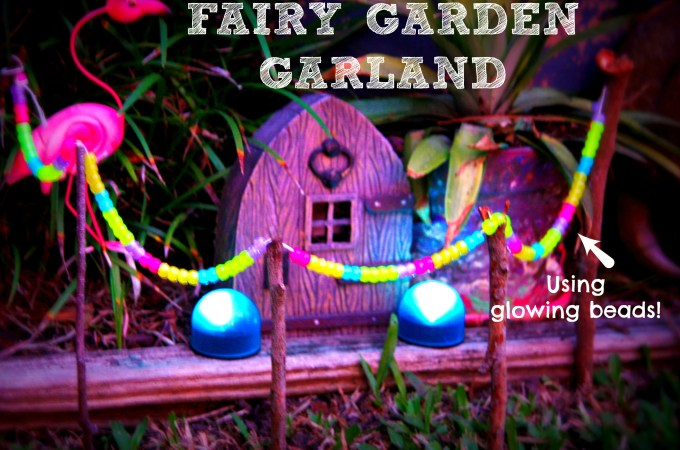 Glowing Fairy Garden Garland
