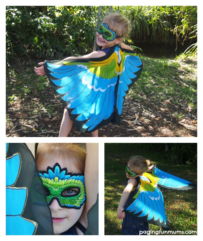 Amazing and affordable Bird Wings for your home dress up box!