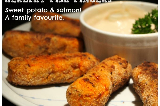 Healthy Fish Fingers! A family favourite that is healthy and delicious!